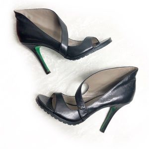 Donald J Pliner leather stilettos Sz 7.5